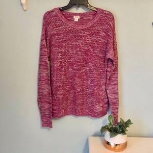 Massimo Marled Pink Sweater